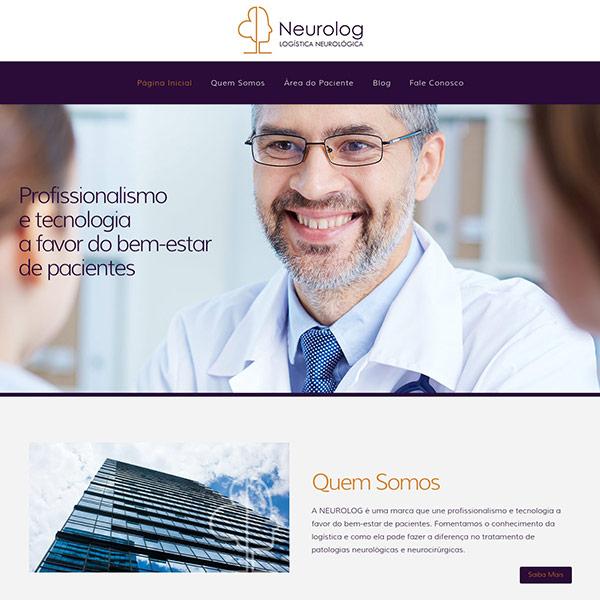 Página Inicial Site Neurolog