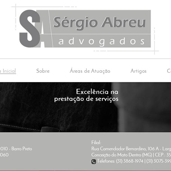 Página Inicial Site Sergio Abreu Advogados