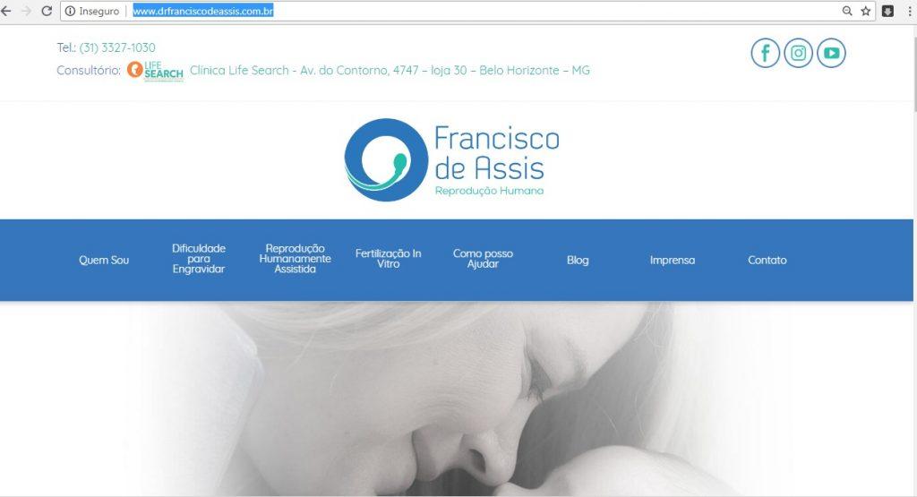 Site Dr. Francisco de Assis